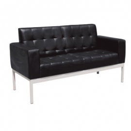 Sofa para Sala de Espera 2 Plazas Living Collection OHM-21002