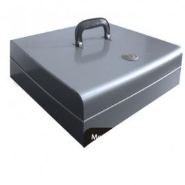 Caja Grande Cuadrada con Maneral MTLQ006