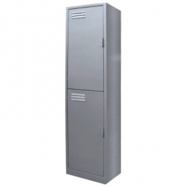 Locker Metalico de 2 Puertas MTLQLD224