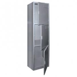 Locker Metalico de 3 Puertas MTLQLD324