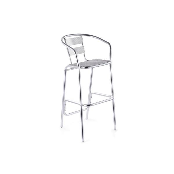 Silla alta para restaurante mvsr1003 mg muebles for Sillas de oficina altas