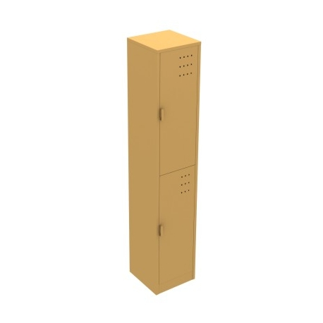 Locker Metalico de 2 Puertas LP-2