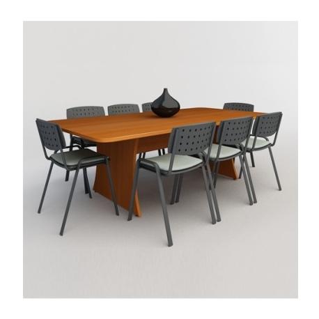 Mesa de juntas thor para 6 personas mj30 - Mesa de juntas ...