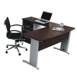Escritorio ejecutivo en l ee28 mg muebles for Sillas para oficina office max