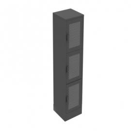 Locker Metalico de Malla 3 Puertas