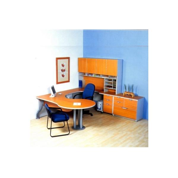 Conjunto ejecutivo magnitur ce06 mg muebles for Conjunto muebles oficina