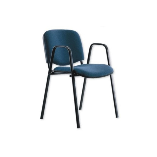 Silla de visita para oficina pkt01b mg muebles for Silla para visitas oficina