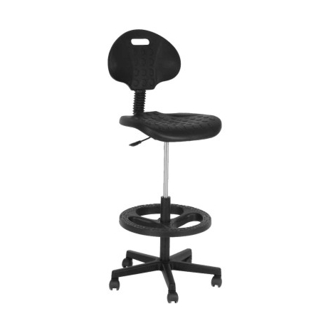 Silla cajero industrial ai 04 mg muebles for Sillas de oficina altas