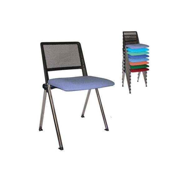 Silla de visita revolution ohv 85cr mg muebles for Sillas de visita para oficina