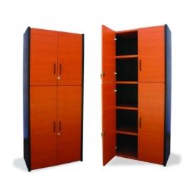 Mueble Tipo Librero 4 Puertas L4P