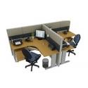 Estaciones y escritorios modulares