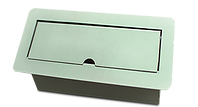 multicontacto PSC066 gris aluminio