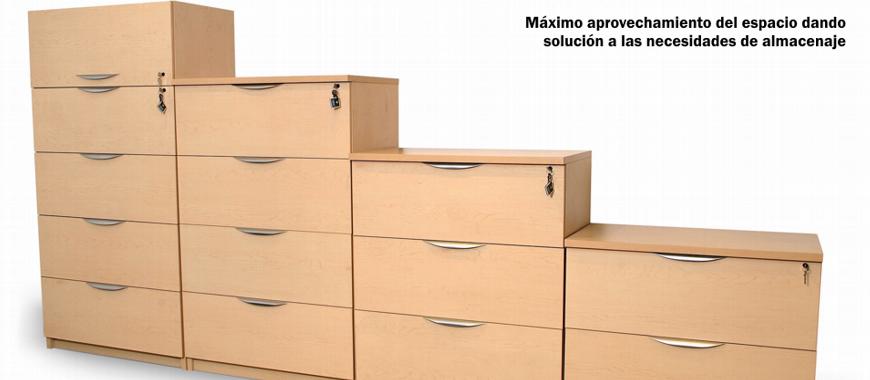 Máximo aprovechamiento del espacio dando solución a las necesidades de almacenaje